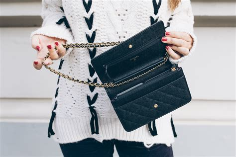 Bag Chanel Woc used chanel wallet on chain best chain 2018