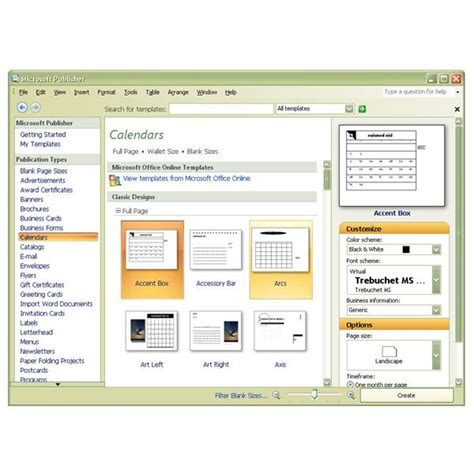 office templates publisher how to make a personalized calendar using microsoft