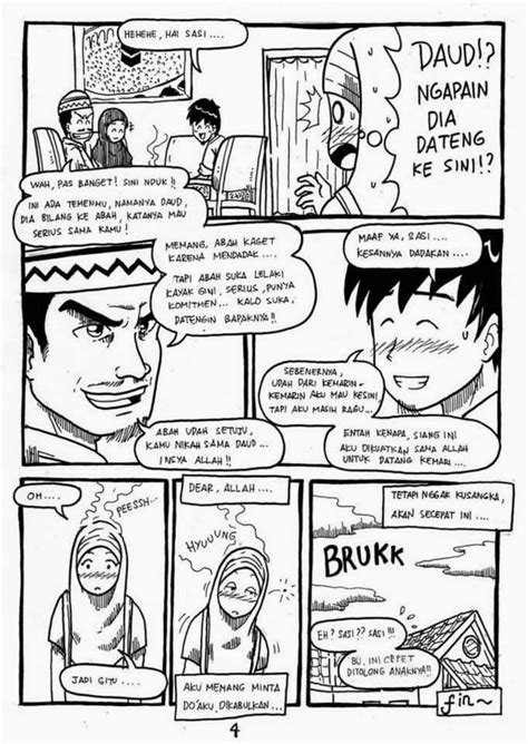 layout komik komik islami ketika kau jatuh cinta komik islami