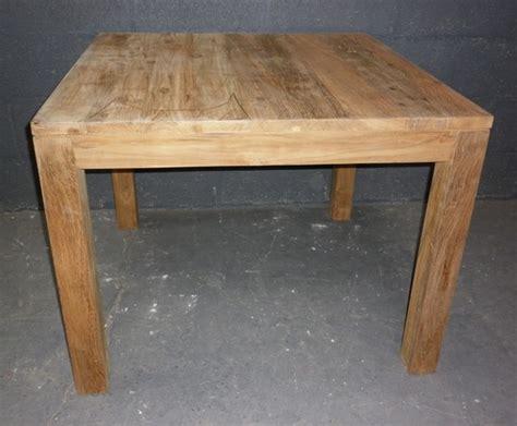 tables table de repas en teck sans allonges