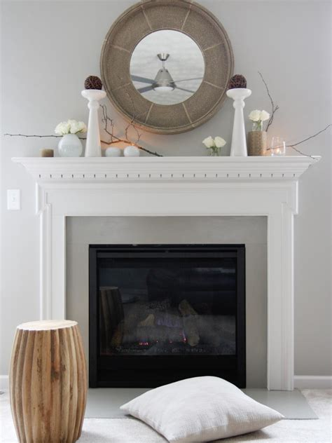 mantel decor my simple winter mantel lighted branches epsom salt and urn decorate your mantel year round hgtv