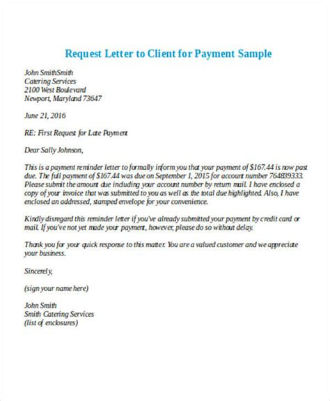business letter template request payment 28 payment letter formats