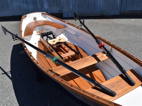 row boat single classic whitehall spirit 174 14 single slide seat sculling