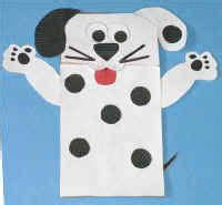 dog puppet pattern paper bag should use print both but hide 2 if the kids make it