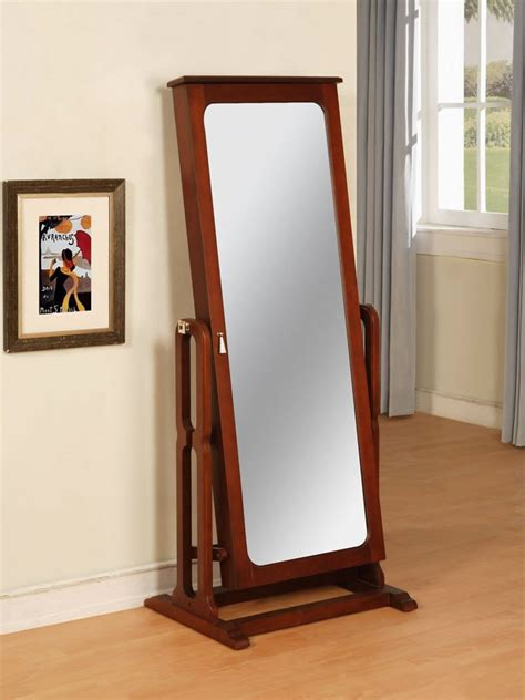 mirror with jewelry armoire jewelryboxplus com jewelry wardrobe cheval mirror