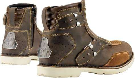 brown motorcycle riding 3403 0421 womens 6 icon 1000 brown leather el bajo
