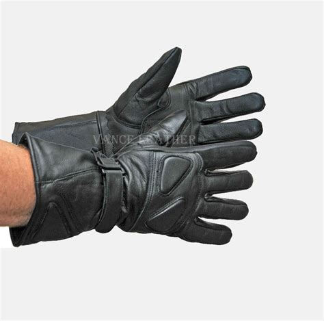 motorcycle gloves motorcycle riding glove insulated gauntlet gloves lamb