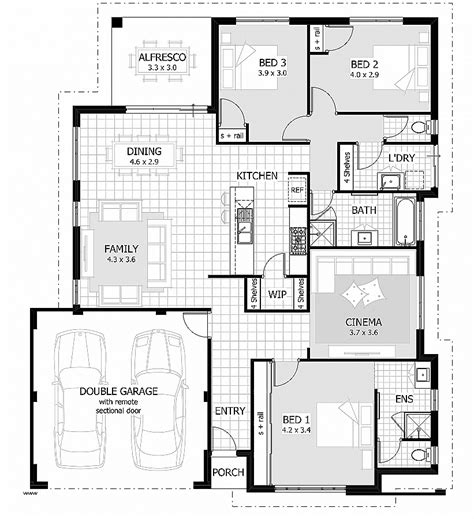 floor plan home design floor plans at modern house