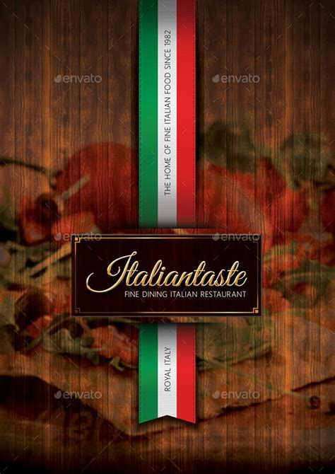 italian restaurant menu template  rapidgraf graphicriver