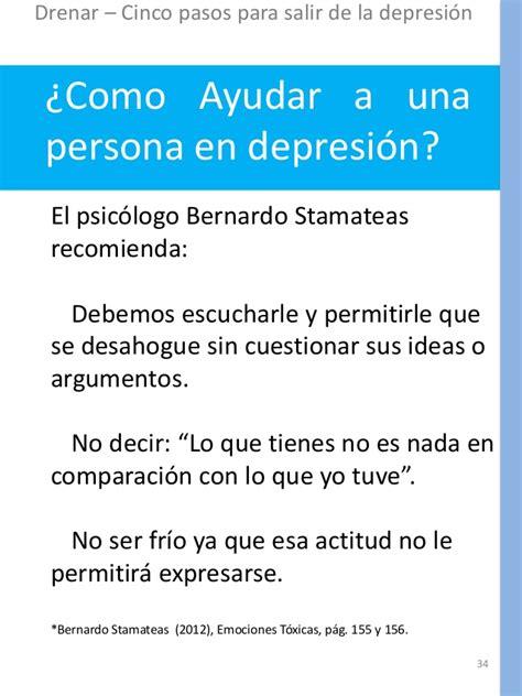 se puede salir de la depresion los cinco pasos para salir de la depresi 243 n