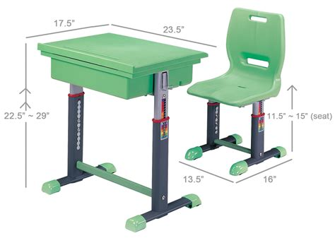 bench height chair toddler furniture children child desk chair sale set green