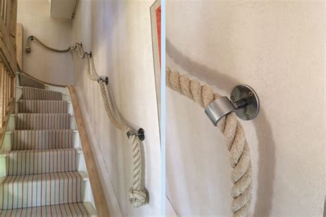 Rope Banisters by Customer Photos Rope And Splice Your Rope Project Made Easy