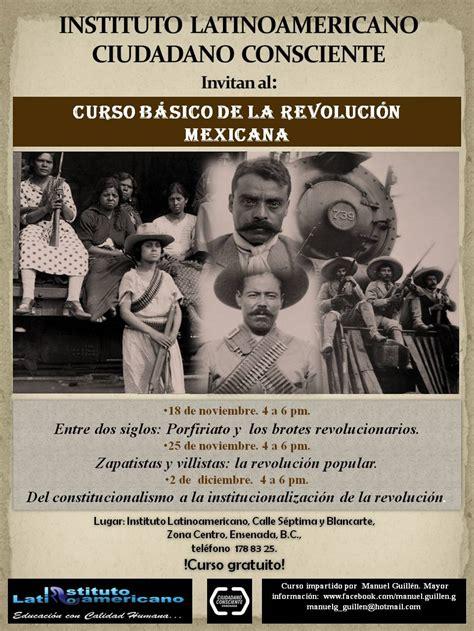 imagenes invitaciones revolucion mexicana invitaci 243 n a curso b 225 sico sobre la revoluci 243 n mexicana