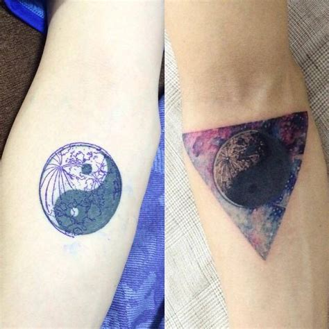tattoo cover up yin yang collection of 25 ying yang cover up tattoos