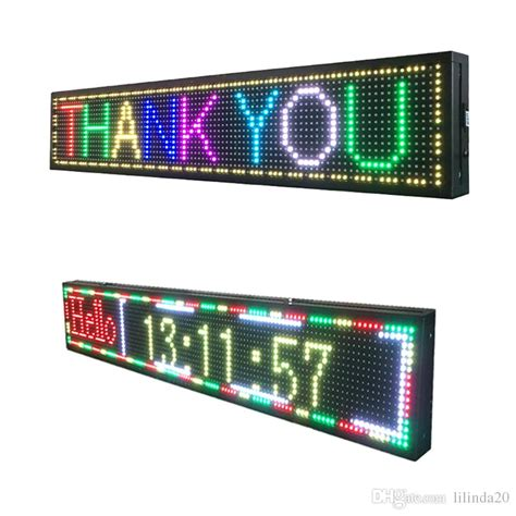 Led Running Text Outdoor p10 outdoor led display usb programmable color text running message board electronic led