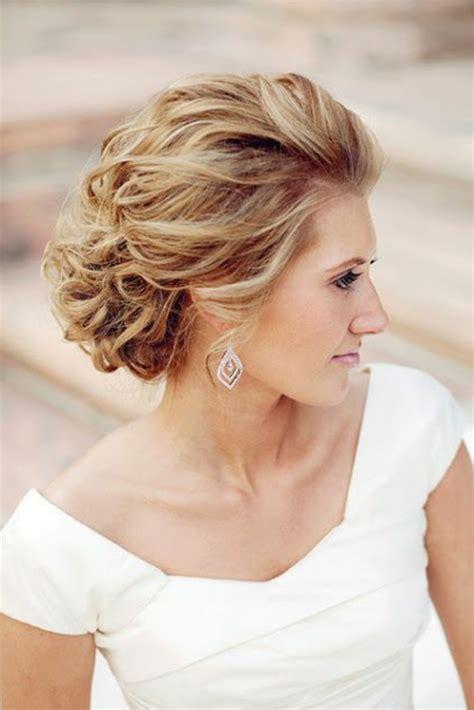 Hochzeitsfrisuren Mittellang 50 id 233 es pour votre coiffure mariage cheveux mi longs