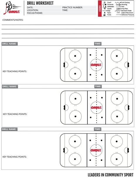 blank hockey practice plan template blank hockey practice plan template choice image templates design ideas