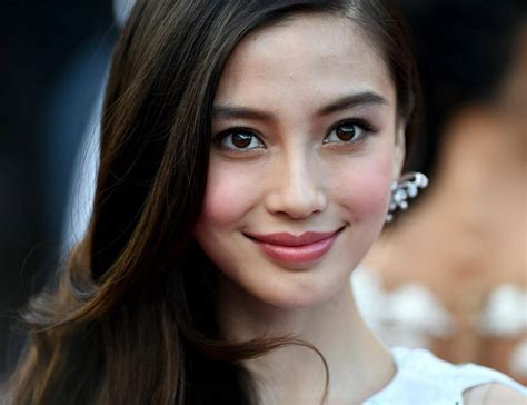 chinese actress images chinese actress angelababy has face examined by medical