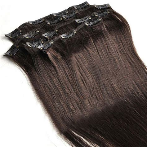 human clip in hair extensions cheap wholesale price 100 human hair clip in hair extension