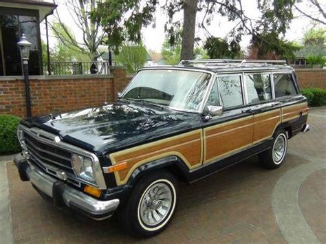 1988 Jeep Grand Wagoneer For Sale Purchase Used 1988 Jeep Grand Wagoneer 4x4 360 Auto