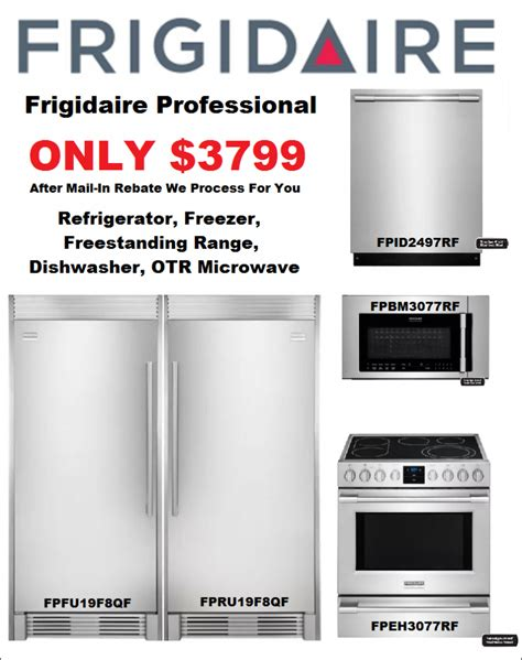 frigidaire professional kitchen appliance package kitchen cabinets countertops remodeling contractor