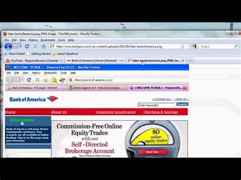 bank america website bank of america real website