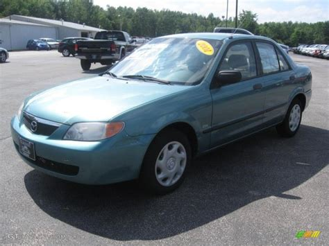 mazda dx 2001 seabreeze green mica mazda protege dx 34643731 photo