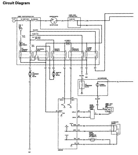 car ac system wiring diagram wiring diagram schemes