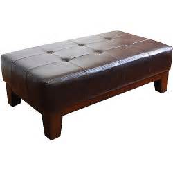 Ottoman Rectangular Rectangle Cocktail Ottoman Colors Walmart