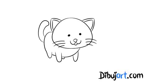 imagenes faciles para dibujar de gatos gatos tiernos para dibujar