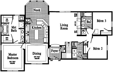 ranch style floor plan luxury t ranch house plans new home plans design