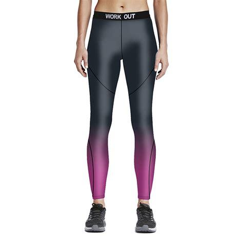 Legging Sport 3 4 legging sport femme tights running exercise stretch push up femme