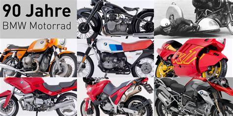 Bmw Motorrad Modelle Historie by Bmw Motorrad Historie 90 Jahre Tourenfahrer