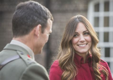 women in their 30s with grey hair duchess of cambridge dresses to match remembrance day