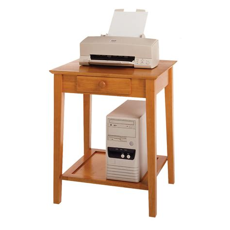 Printer Table With Drawers by Winsome Studio End Printer Table By Oj Commerce 99323