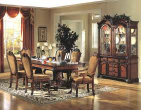 7 Dining Room Set Mcferran 7 Pc Dining Room Set Classic Cherry Mcfd5006s