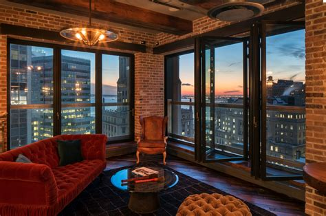 million rustic penthouse   york ny homes