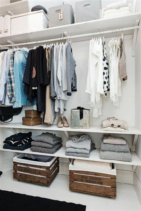kleiderschrank einfach 1001 ideen f 252 r offener kleiderschrank tolle wohnideen