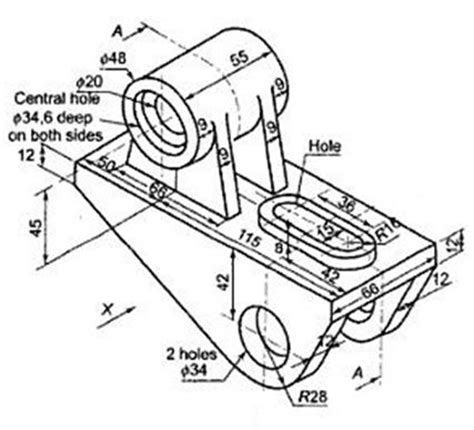 technical drawing section view 88 best images about solidedge on pinterest bevel gear
