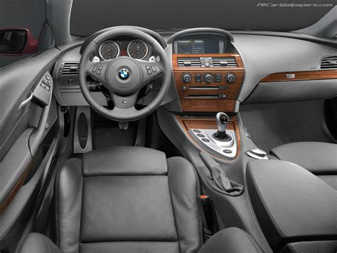 luxury bmw interior bmw m6