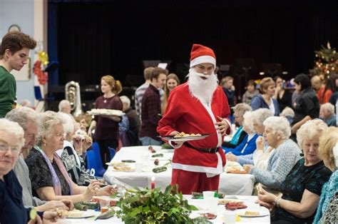 christmas party ideas for senior citizens free lunch for senior citizens to be served up at college shropshire live