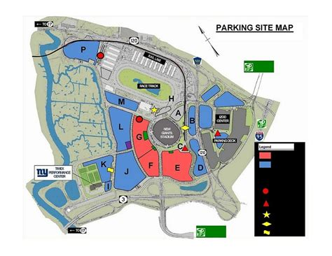 metlife stadium parking map buy and sell parking passes for the new york giants psl at