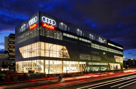 audi dealership exterior audi inspires employees and increases sales autofluence