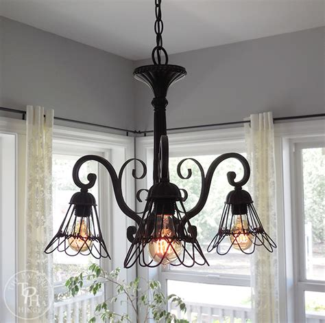 farmhouse style chandeliers how to makeover a chandelier in farmhouse style