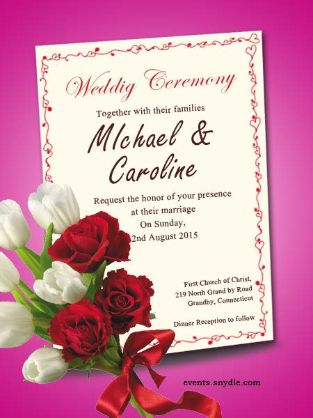 Wedding Invitation Cards To Friends Free Wedding Invitation Cards Festival Around The