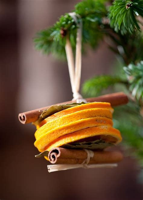 which christmas tree smells like oranges dried orange slices and cinnamon stick tree decorations they smell delicious