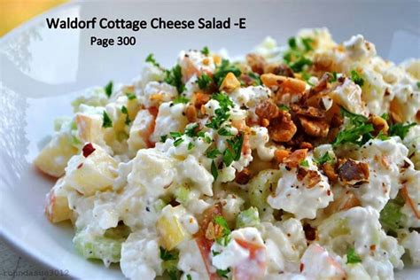 Salad Cottage Cheese by Waldorf Cottage Cheese Salad