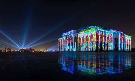 festival of lights 2017 sharjah light festival 2017