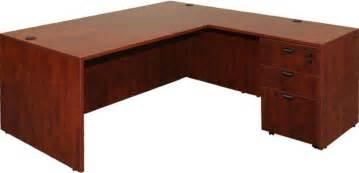 Espresso L Shaped Desk Napa L Shape Desk