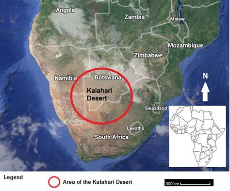 kalahari desert map kalahari desert on map clubmotorseattle